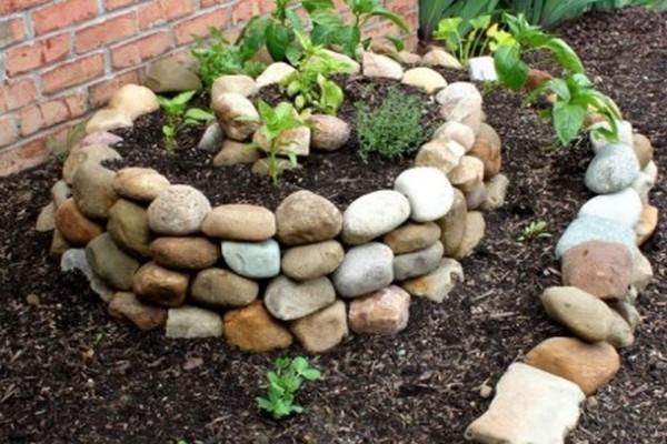 спиральный сад
