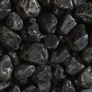 Мраморная галька Черный Эбон