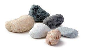 Натуральные камни галька в ассортименте