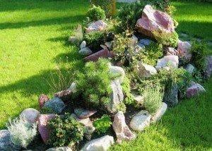 Декор сада из отборного гранита