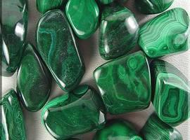 галька декоративная зеленая