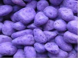 галька декоративная фиолетовая