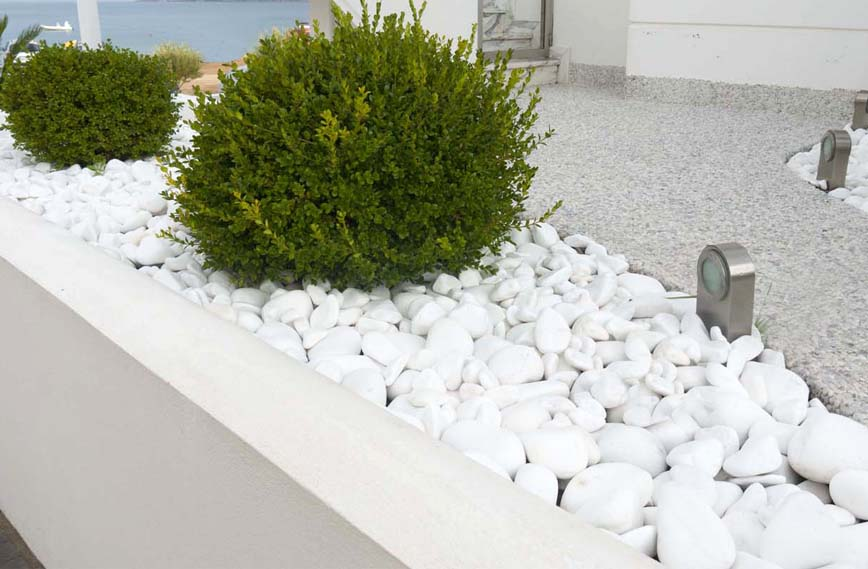 Использование белого камня