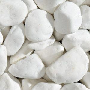 Белая галька грецкая Тассос