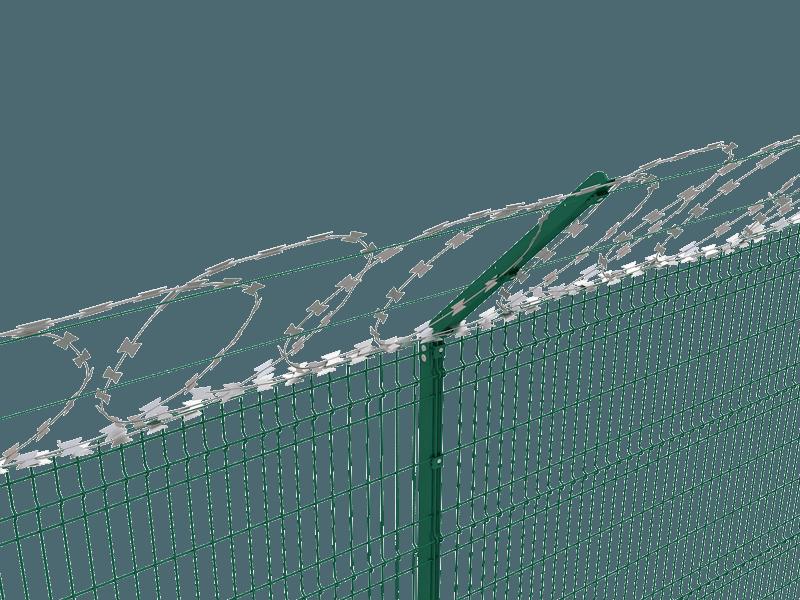 Flat-razor-wire