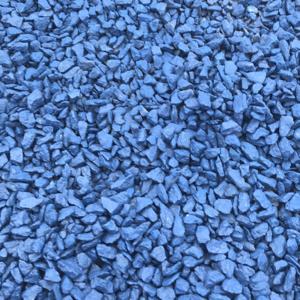 Щебень крашенный Синий