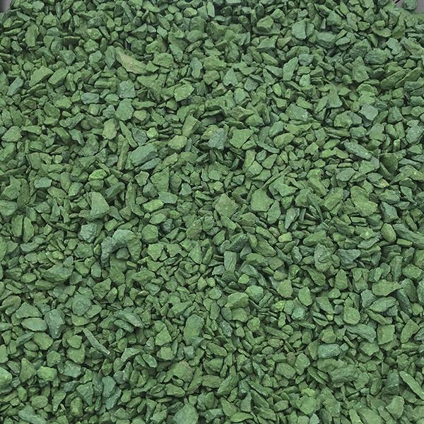 Щебень крашенный Зеленый