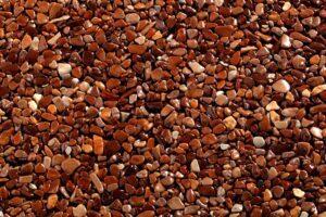 Мелкая галька коричневая Мароне